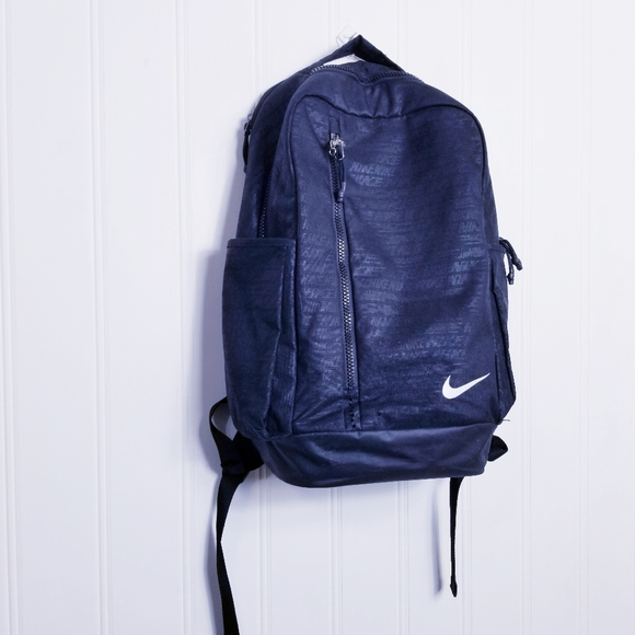 Nike Pro Adapt Backpack School Bag Book Bag Adjustable Black